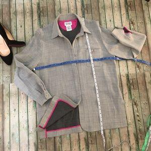 NWOT Escada Sport Grey virgin wool light grey jack